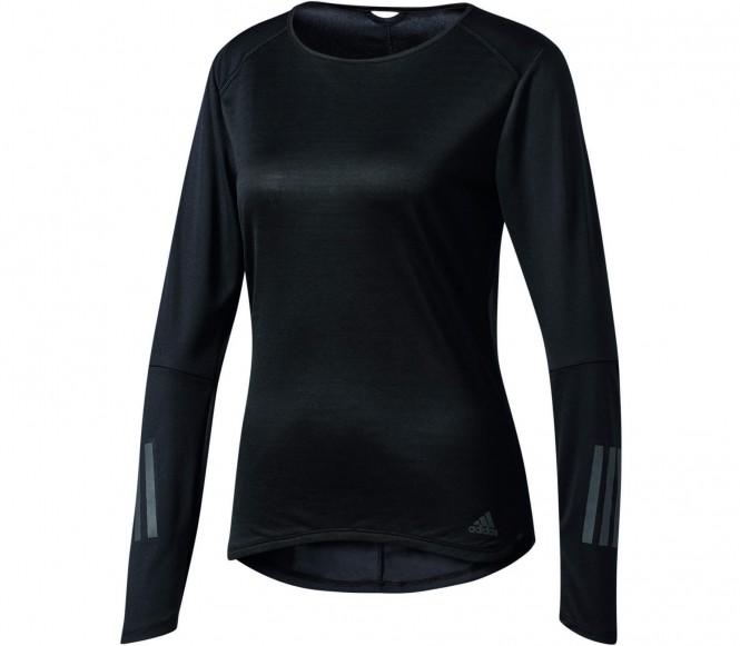 Response Longsleeve Damen Laufshirt (schwarz) - L