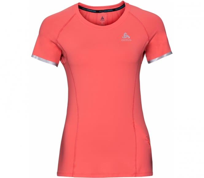 Zeroweight Ceramicool BL Top Crew Neck Shortsleeve Damen Laufshirt (orange) - S