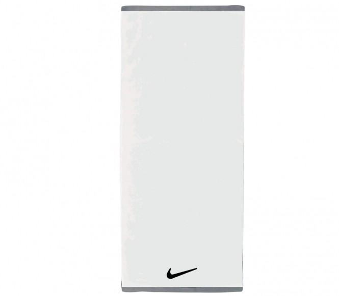 Nike Fundamental Large träningshandduk (vit)