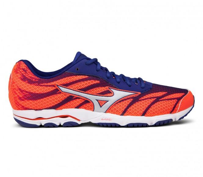 Mizuno - Wave Hitogami 3 Femmes chaussure de course (Orange/bleu) - EU 41 - UK 7,5