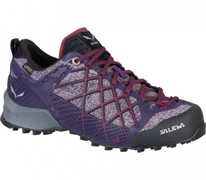 Salewa - Wildfire GTX Damen Approachschuh (lila...