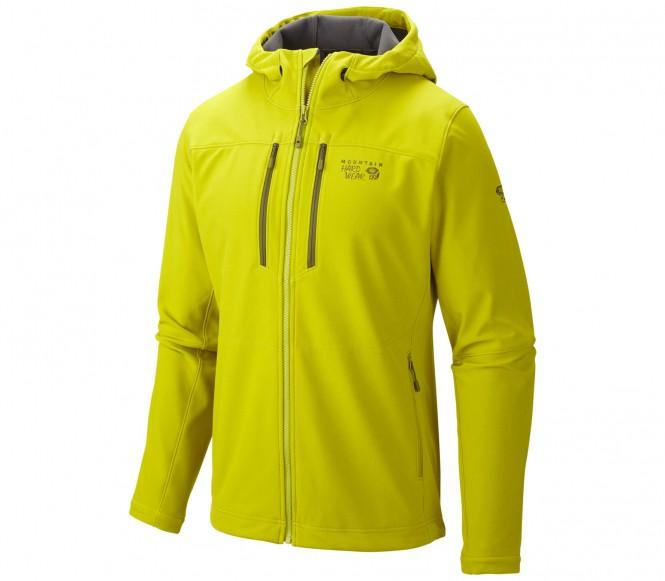 Mountain Hardwear Hooded Hueco Herr Softshelljacka (grön) XXL