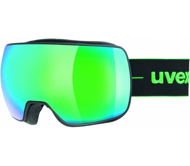 Uvex - Compact Fm Skibrille (schwarz/grün)