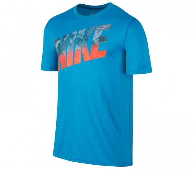 Nike Legend Block Camo Herr Träningsshirt (blå) XL
