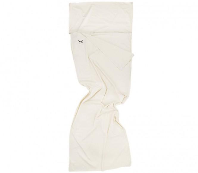 Salewa - Cotton Feel Line Hüttenschlafsack (weiß)