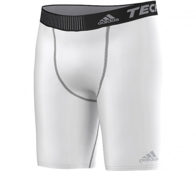 Adidas TechFit Base Shorts Tight Herr (vit) XL