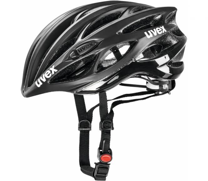 Uvex - Race 1 Bike Helm (schwarz) - 55 - 59 cm