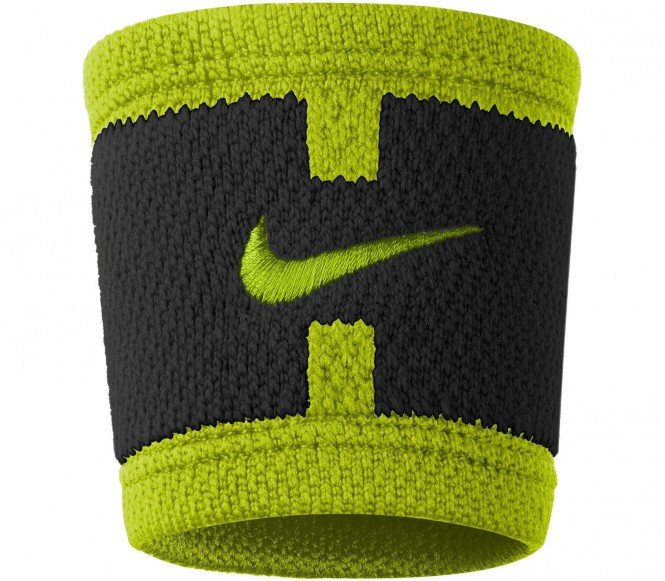 Nike - Dri-Fit Court Logo Wristbands (schwarz/h...