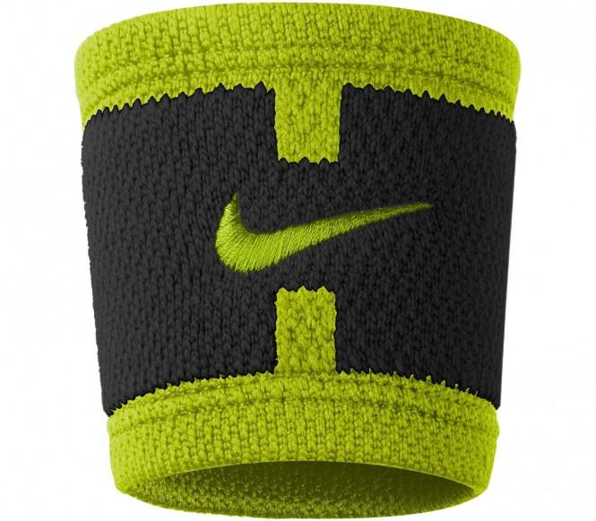 Nike - Dri-Fit Court Logo Wristbands (schwarz/h...