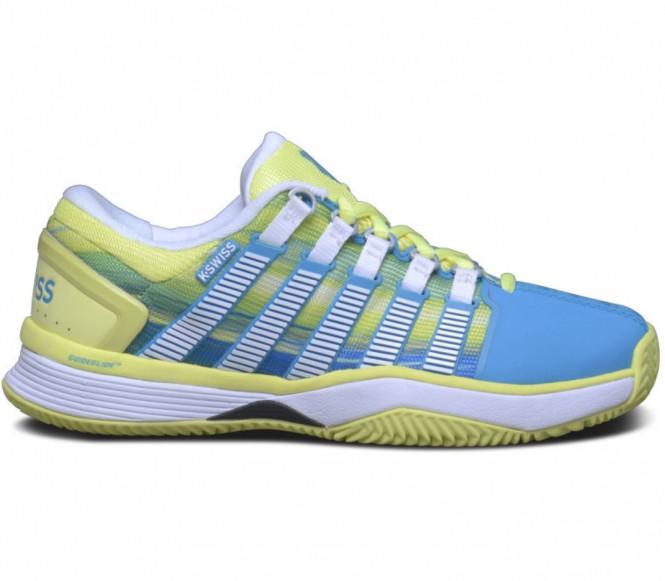 Hypercourt HB Damen Tennisschuh (gelb/blau) - EU 37,5 - UK 4,5