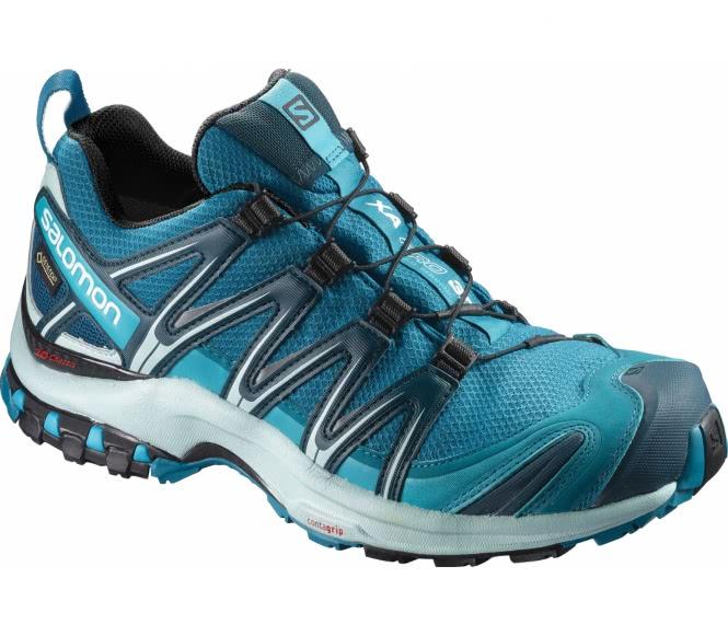 XA Pro 3D GTX® Damen Laufschuh (blau/grau) - EU 40 2/3 - UK 7