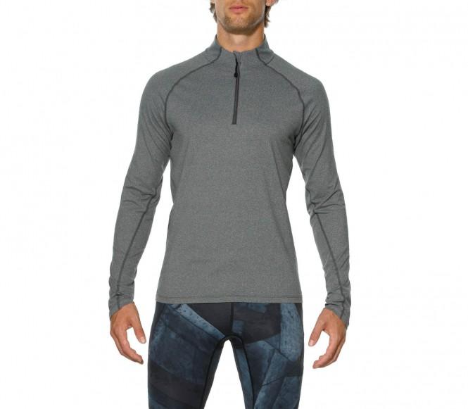 ASICS Sportshirt dark grey heather