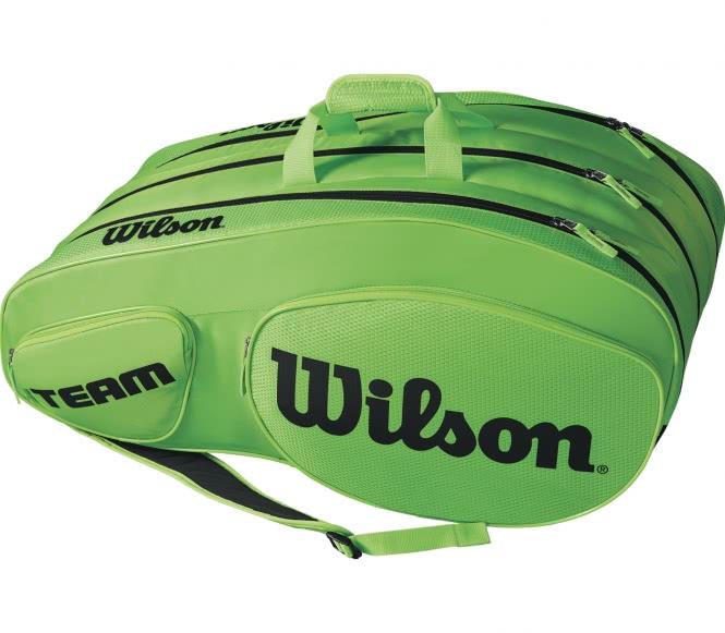 Team III 12 Pack Tennistasche (grün/schwarz)