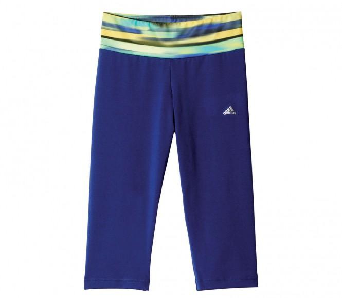 Adidas Wardrobe 3/4 Tight barn träningsbyxor (mörkblå) 128