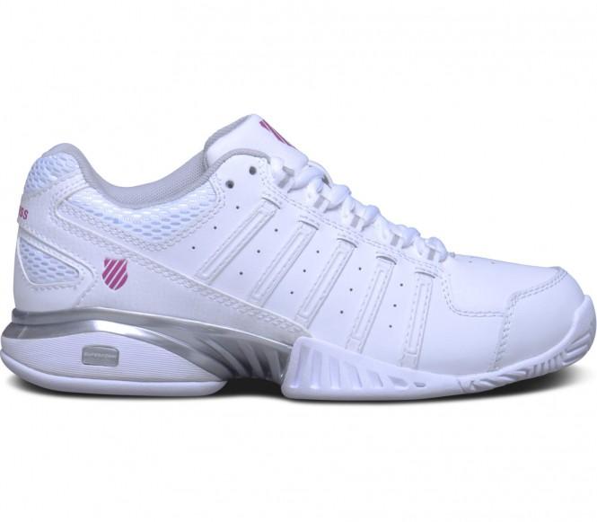 Receiver III Damen Tennisschuh (weiß/rot) - EU 42 - UK 8