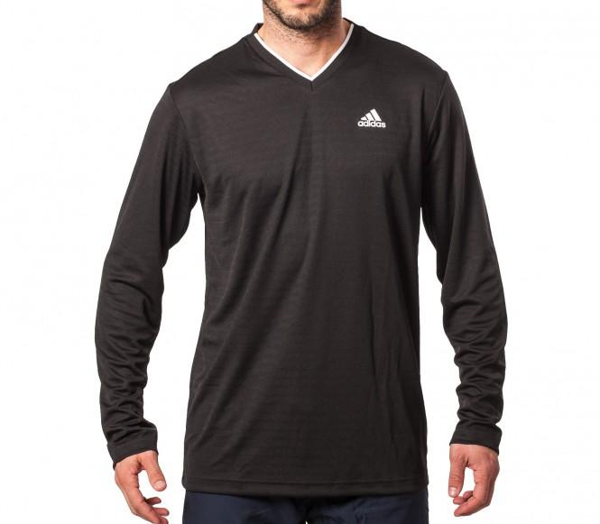 Adidas TS Engineered Longsleeve Herr Tennisshirt (svart) M