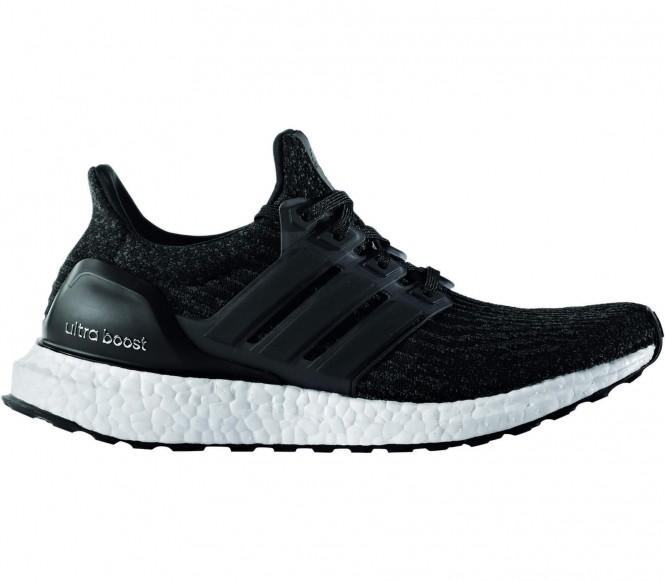 Adidas Ultra Boost women's running shoes (black-white) EU 40 2-3 UK 7