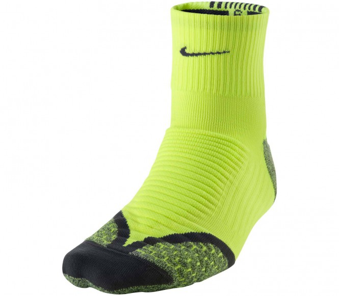 Nike Performance ELITE RUNNING CUSHION Sportsokken Geel