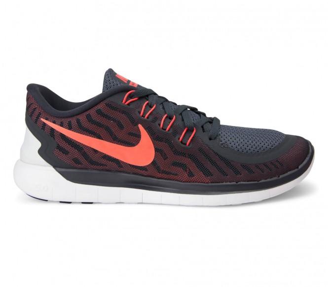 Nike Free 5.0 löparskor herr (svart/röd) EU 425 US 9