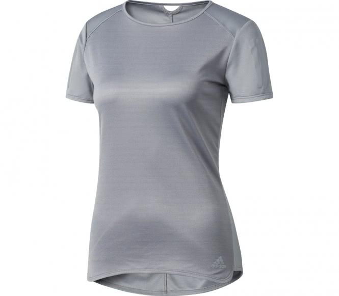 Response Shortsleeve Damen Laufshirt (grau) - M