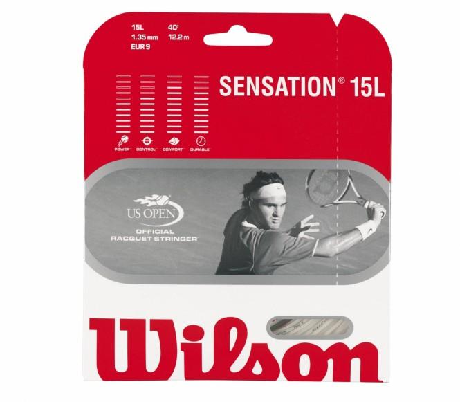 cordages de tennis - WILSON SENSATION 12M 1,25MM