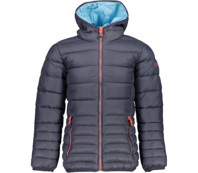 Fix Hood Jacket Junior Hybridjacke (grau) - 128