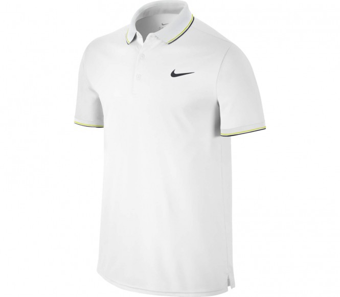 Nike Performance COURT Poloshirt white/black