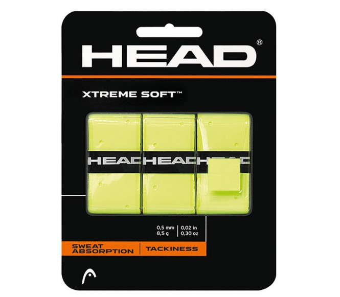 Head - Xtreme Soft Grip - gelb