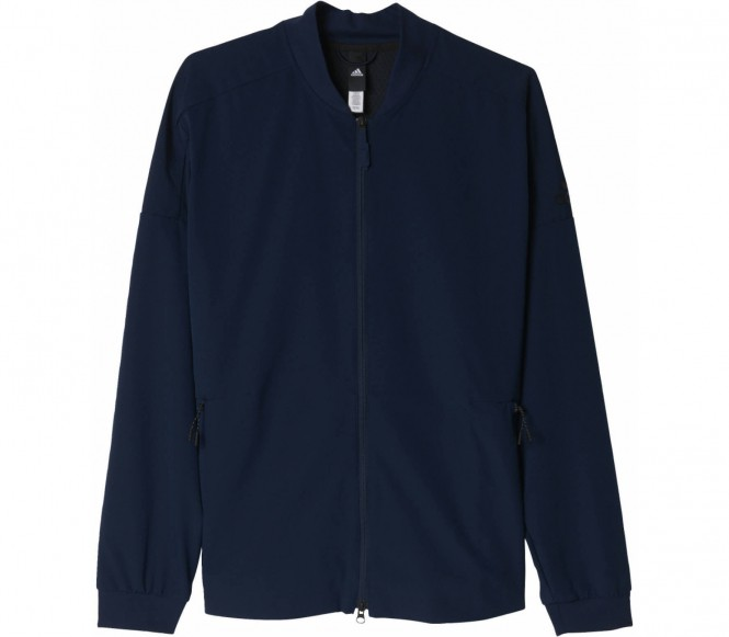 Adidas Z.N.E. Tracktop Woven Heren Trainingscapuchon (donkerblauw) M