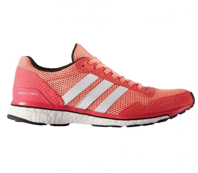 Adizero Adios Boost 3 Damen Laufschuh (rosa/rot) - EU 40 - UK 6,5