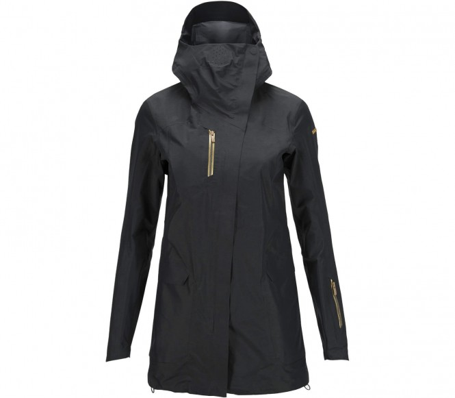 Milan Damen Skijacke (schwarz) - S