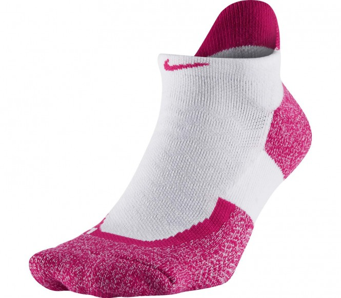 Nike - Elite No Show Tennissocken (weiß/pink) - XS