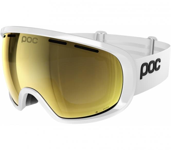 POC - Fovea Clarity Skibrille (weiß/gold)
