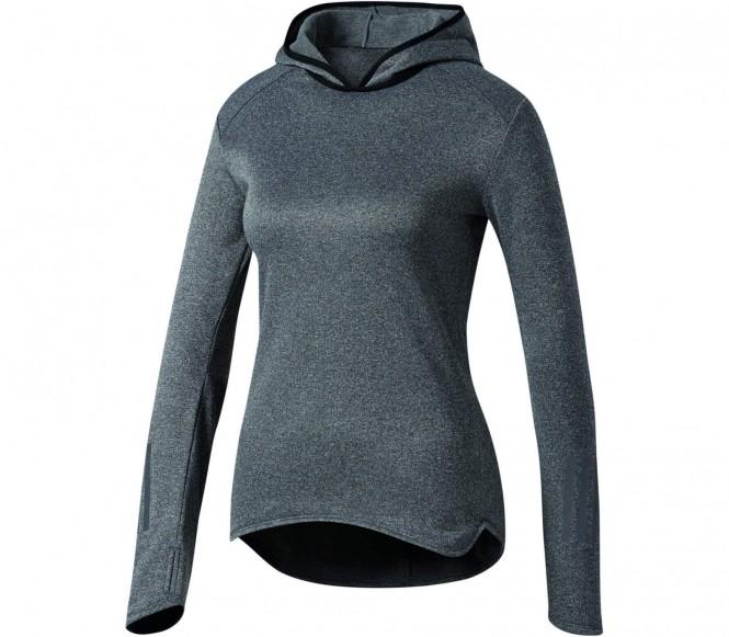 Adidas Response Dames running Hoodie (zwart) XS