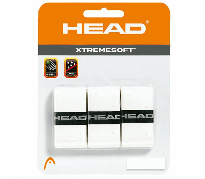 Head - Xtreme Soft - 3er - weiß