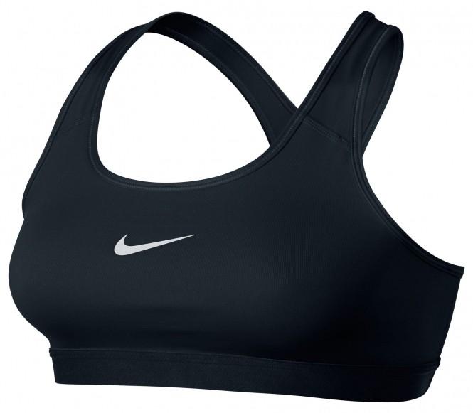Nike Pro Classic Bra Dam träning (vit/svart) L