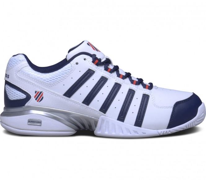 Receiver III Herren Tennisschuh (weiß/blau) - EU 42 - UK 8