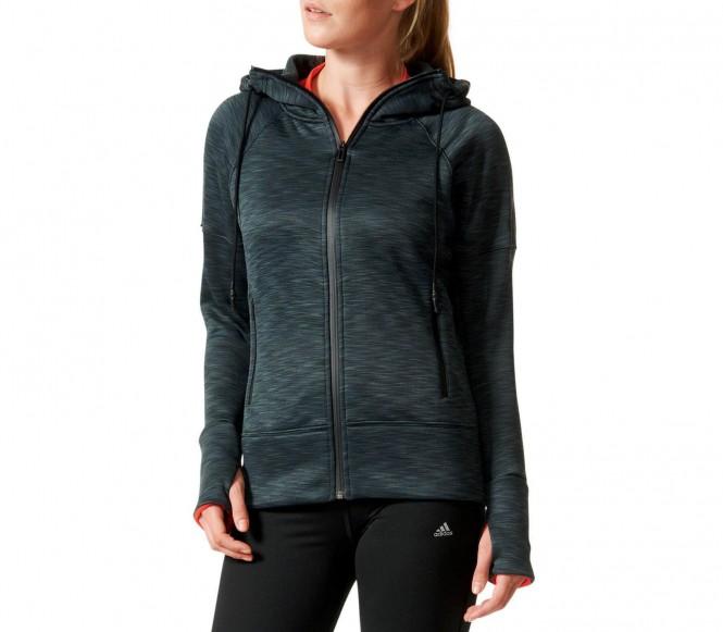Climaheat Full-Zip Damen Trainingshoody (dunkelgrau) - S