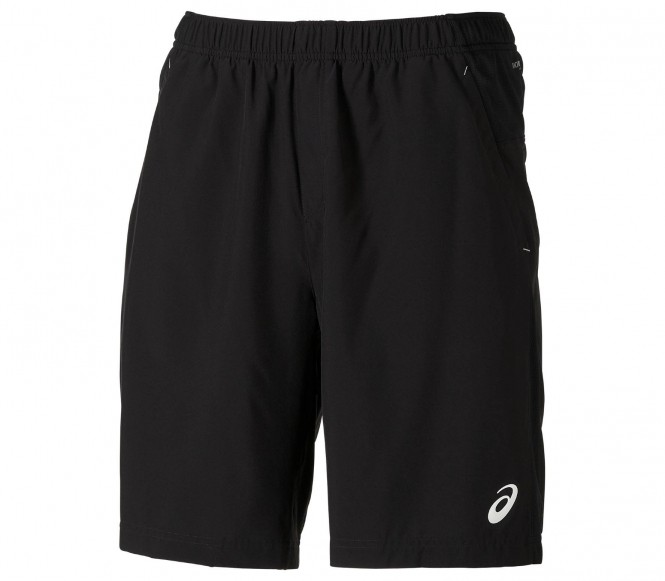 Asics Club Woven Running Shorts 9-inch zwart
