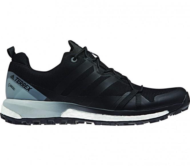 Terrex Agravic GTX Herren Mountain Running Schuh (schwarz/grau) - EU 46 2/3 - UK 11,5