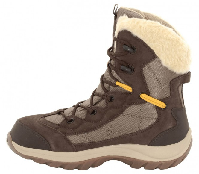 Jack Wolfskin - Icy Park Texapore Dames winter wandellaarzen - EU 38 - UK 5 braun