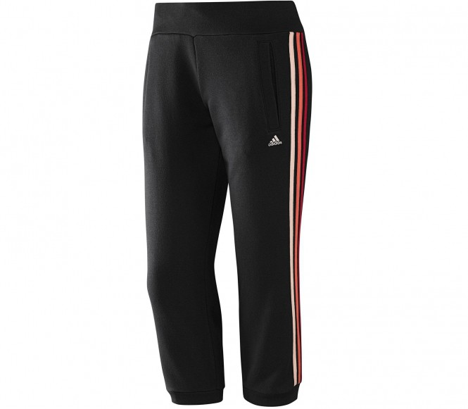 Adidas Fitness- en Trainingsbroek Heren Essential 3S Seasonal Capri XS zwart
