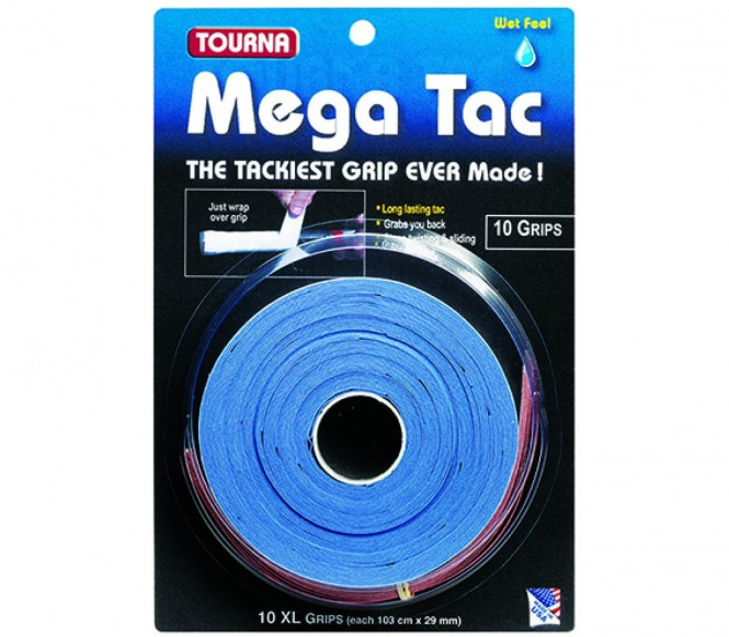 Unique - Tourna Mega Tac 10er Pack (blau)