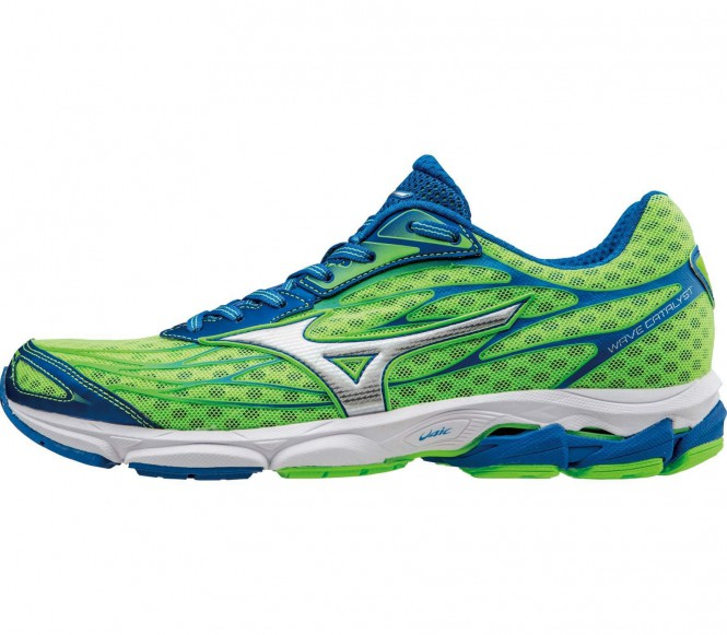 Mizuno – Wave Catalyst Herr löparskor (grön/blå) – EU 45 – UK 10,5