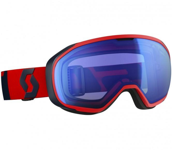 Fix Skibrille (rot/dunkelblau)