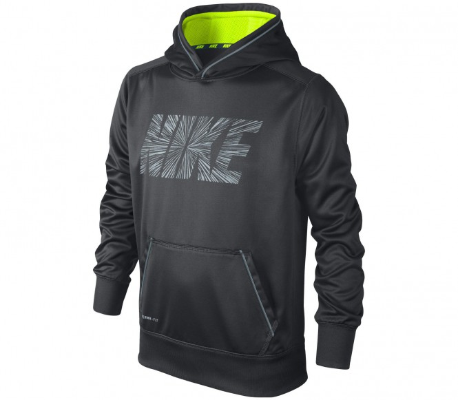 Nike KO 2.0 Reflective OTH barn träningshoodie (anthrazit) M