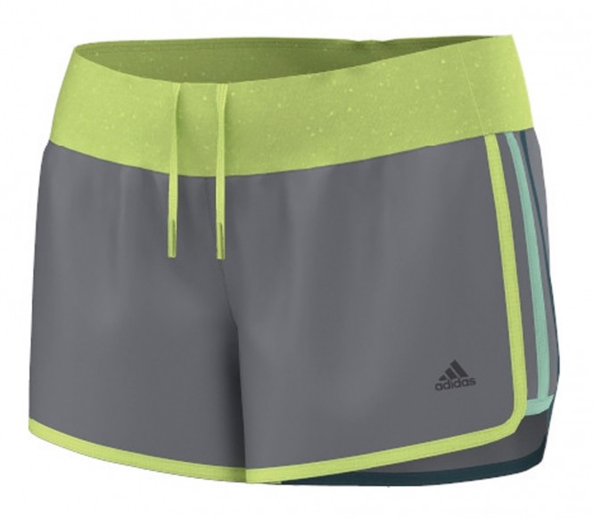 Adidas Aktiv Marathon 10 dam löparshorts (grå) XS