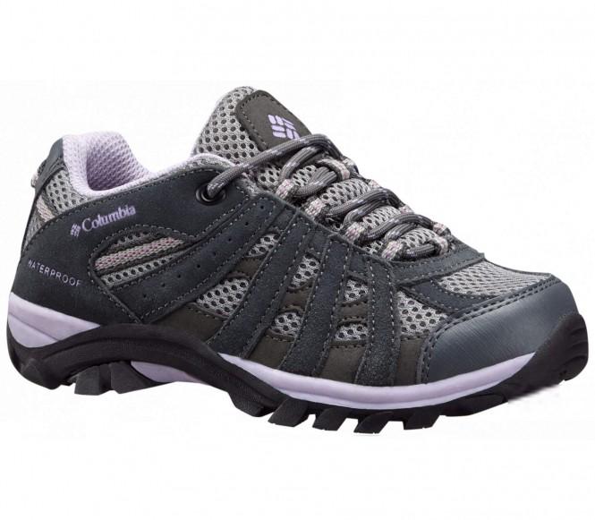 Columbia redmond explore waterproof <strong>chaussures</strong> multisports pour enfants gris eu 35 us 4
