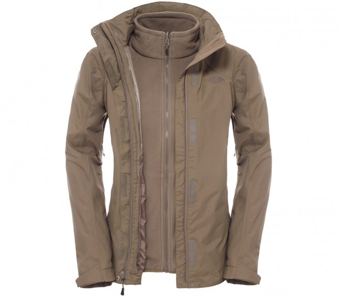 The North Face EVOLUTION II TRICLIMATE 2IN1 Outdoorjas weimaraner brown