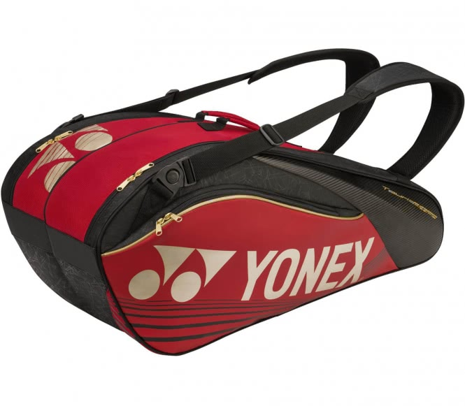 Pro Thermobag 6er Tennistasche (rot/schwarz)